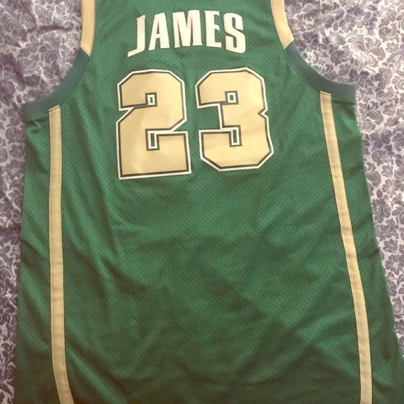 2003 Nike Lebron James high school Jersey. M 5b7cddda4cdc30f816418edd ed5949625